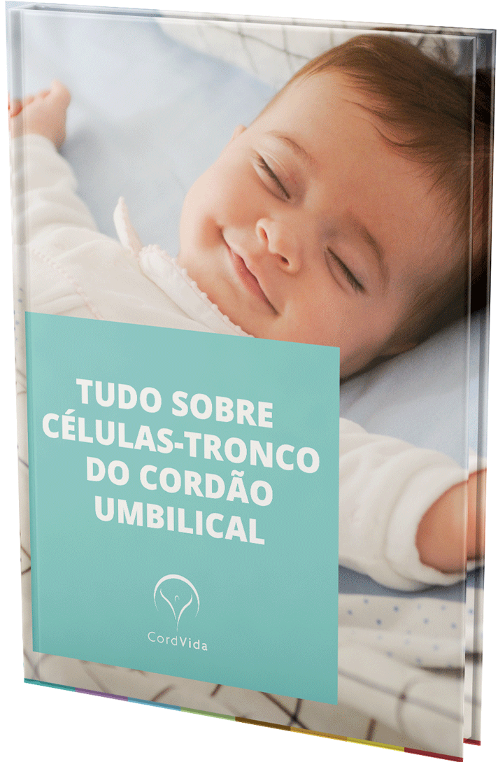 Capa do Ebook - Tudo sobre as células - tronco do cordão umbilical